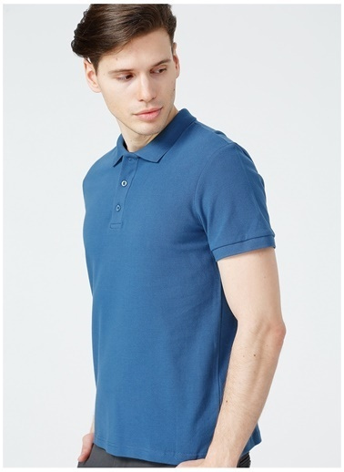 Limon Company Limon Erkek İndigo Polo T-Shirt İndigo